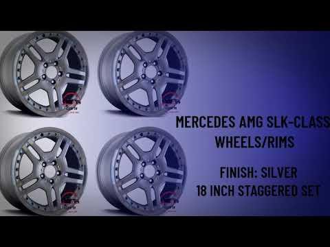 "2006-2011 MERCEDES BENZ SLK55 SLK350 AMG 18"" FACTORY ORIGINAL WHEEL RIM"