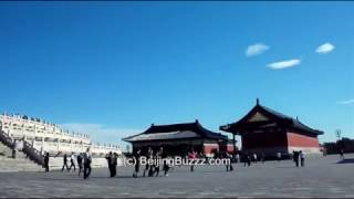 Video : China : Panorama of the Temple of Heaven, BeiJing 北京