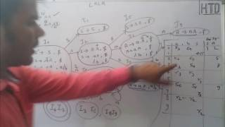 LALR Parser Compiler design lec - 12 for Gate/University exam in HINDI