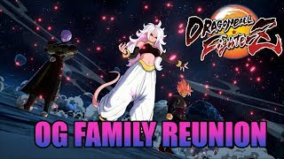 DBFZ - OG FAMILY REUNION (the Team That 'almost' Beat SonicFox) | Online Matches