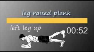5 min Plank Workout with timer by Born4 BreakingLimits