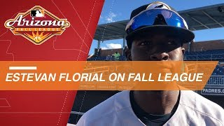 Florial on improving in the Arizona Fall League