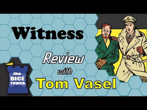Dice Tower Reviews: Witness