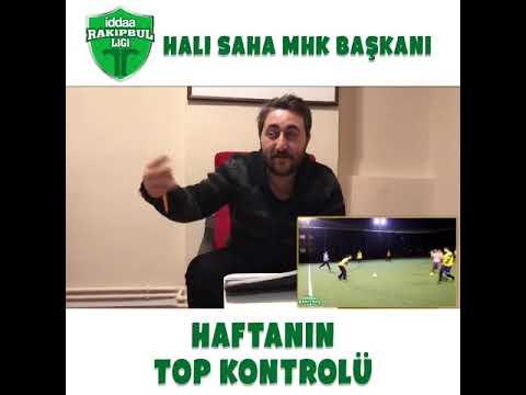 Arif Sevimli ile İddaa Rakipbul Halı Saha Ligi'nde haftanın top kontrolü