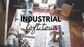 My Industrial LOFT APARTMENT TOUR 2020!! $1200/month || TheAdeTomi