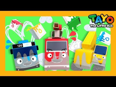 Color Song l Miss Polly had a Dolly l Car songs l Learn Colors with Tayo the LIttle Bus