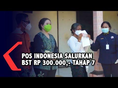 pos indonesia salurkan bantuan sosial tunai bst tahap vii sebesar rp -