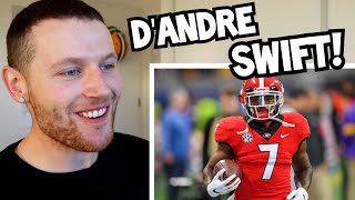 Rugby Player Reacts To DANDRE SWIFT Georgia Bulldogs College Football Career Highlights!