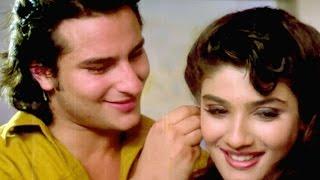 Ek Yaad Ke Sahare - Saif Ali Khan, Raveena Tandon, Imtihaan Song | Bollywood Song