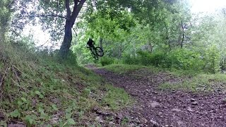 This is a video featuring myself and local shredder Charles Williams highlighting some of the more interesting features on the Flo Ride descent trail. Enjoy the janky hucks and sarcastic banter!