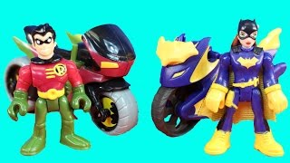 Imaginext Batgirl And Robin Go On A Rescue Mission To Rescue Batman And Superman