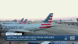 Few airlines offering cash refunds despite getting billions from bailout deal