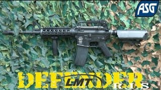 preview picture of video 'ASG LMT M4 Defender RIS airsoft'