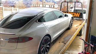 Download Youtube: My TESLA battery DIED!!!