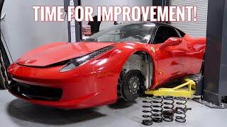 Ferrari 458 Issues Resolved! Time to SLAM IT!