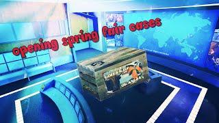 Critical ops || открываем 10 spring fair кейсов || open 10 spring fair cases