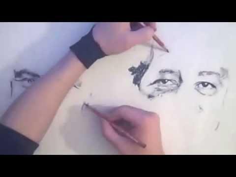 А художник берет краски