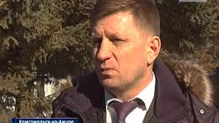 Юрий Борисов на заводах Комсомольска