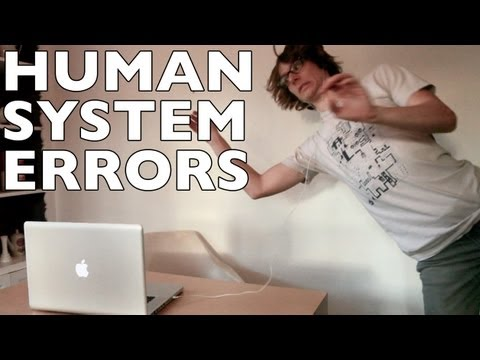 If Only We Had Pop Up Messages For The Human System Errors We Make