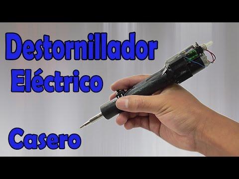 Cómo Hacer Un Destornillador Eléctrico Casero (Muy fácil de hacer)