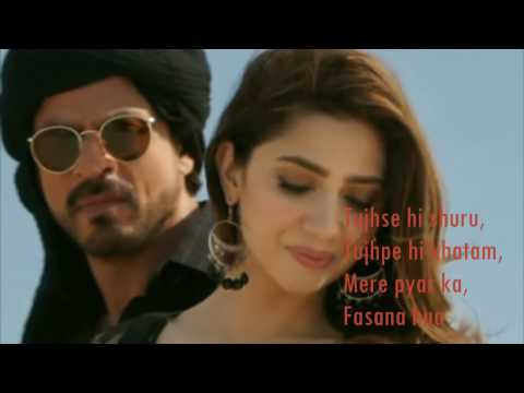 Download Zaalima | Raees | VIDEO LYRICS | Shah Rukh Khan & Mahira Khan | HD Mp4 3GP Video and MP3