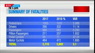 Statistics show a slight decrease in number of fatalities according to NTSA