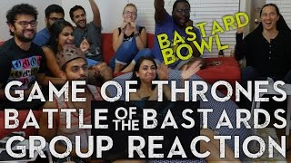 Game of Thrones - 6x9 Battle of the Bastards - Group Reaction