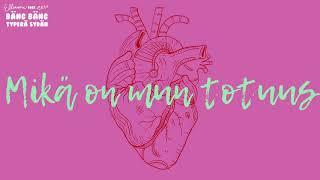 Ellinoora   Bäng Bäng Typerä Sydän Feat. Eetu (Lyric Video)