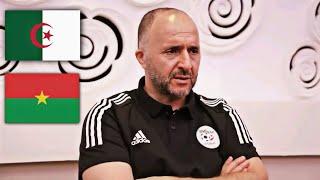 Conférence de presse de Djamel Belmadi après la rencontre Burkina Faso – Algérie