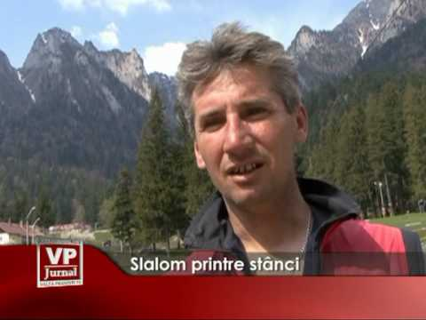 Slalom printre stânci