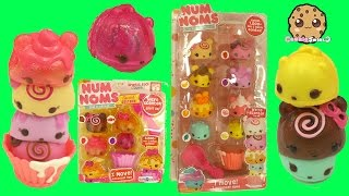 Scented Num Noms Series 2 Sparkle + Series 1 Cupcake Party Unboxing - Cookieswirlc Video
