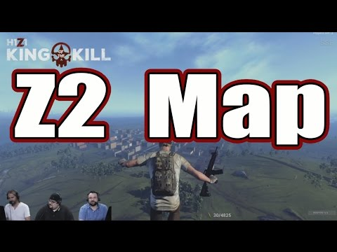 H1Z1 King of The Kill - Z2 Map - First Look - Comment