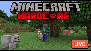 Minecraft Hardcore Livestreamed Series - Episode 1 - HELP ME SURVIVE!