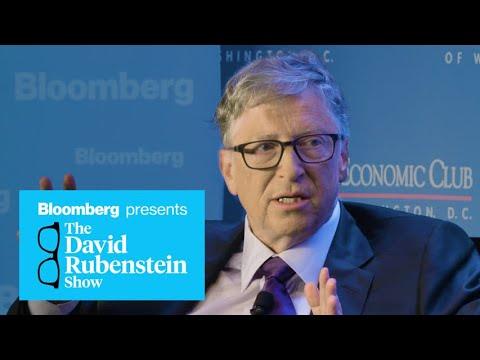 Microsoft Co-Founder Bill Gates on The David Rubenstein Show