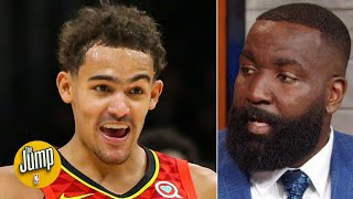Kendrick Perkins explains his Trae Young & Stephen Curry tweet   The Jump