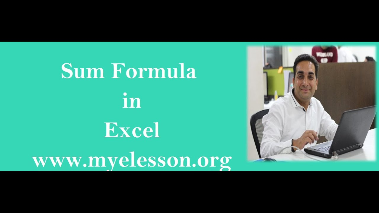How to use  Sum Formula In Excel