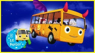 Wheels on the Bus - Halloween Special | Little Baby Bus | Halloween Songs for Kids
