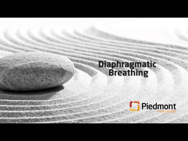 12-minute meditation: Diaphragmatic breathing