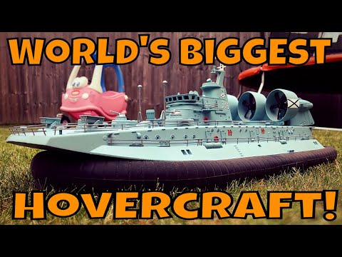 Cool RC Hovercraft!