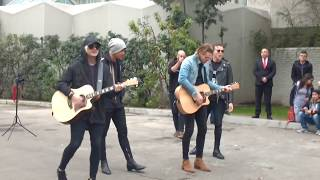 Vapor/ Beside You Acoustic 5SOS - Chile 08/09/17
