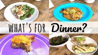 WHAT'S FOR DINNER | KETO CASSEROLES | FAMILY OF 4 | LIVING IN THE MOM LANE