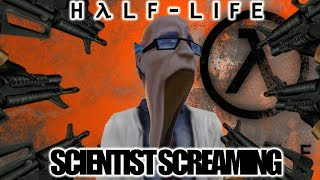 HALF-LIFE SCIENTIST SCREAMING