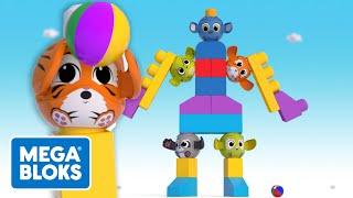 Mega Bloks -  Peek A Blocks™ Baue einen Roboter    Fisher-Price Deutsch   Cartoons für Kinder