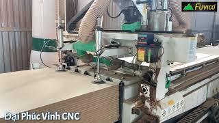 Máy cnc Nesting 4 trục PRO-R4F sau 1 năm sử dụng
