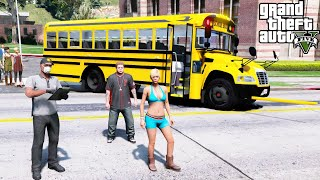 GTA 5 Real Life Mod #276 Bus Driver Taking Students Back To School After Quarantine Is Over