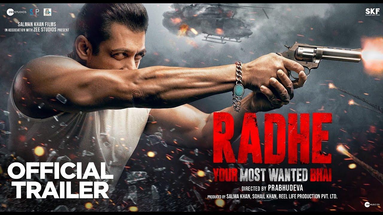 Radhe: Your Most Wanted Bhai   Official Trailer   Salman Khan   Prabhu Deva   EID 2021