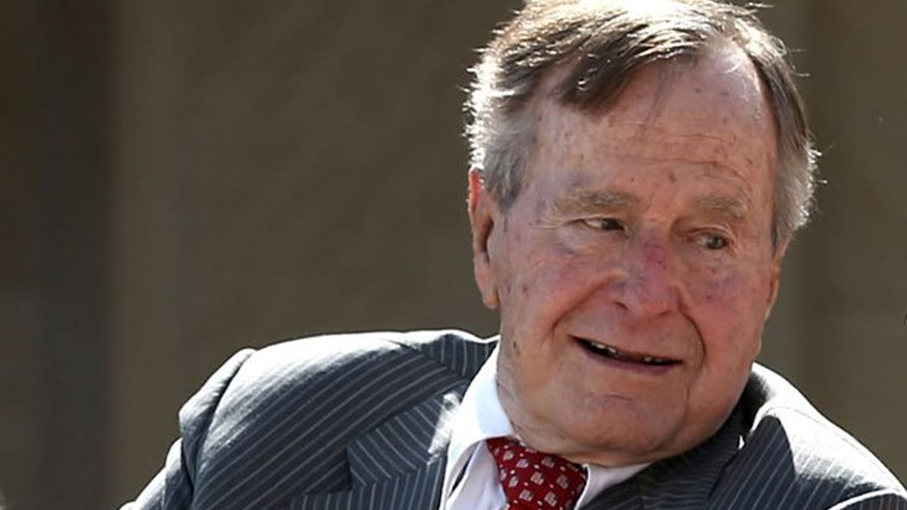 George H.W. Bush To Vote For Hillary Clinton? thumbnail