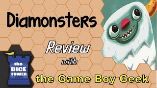 Diamonsters Review - with the Game Boy Geek