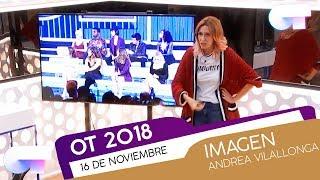 Clase de IMAGEN con ANDREA VILALLONGA (16 NOV)   OT 2018