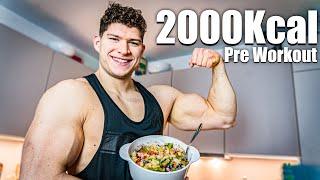 2000 Kcal - Die perfekte Mahlzeit vor dem Training